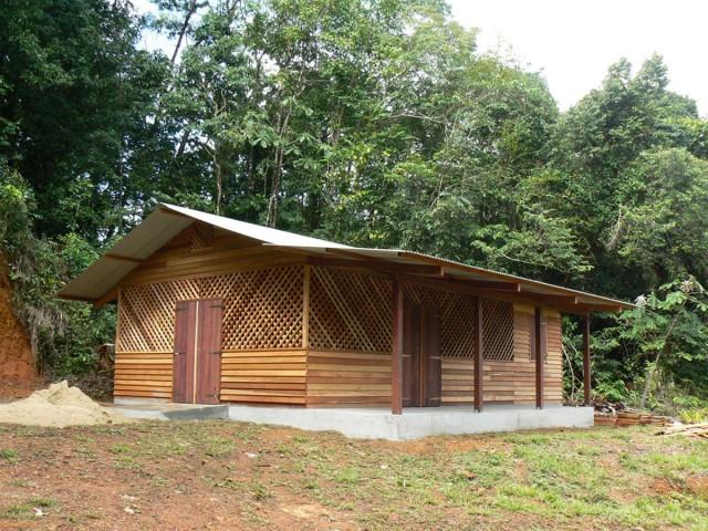 Réserve Naturelle Trésor : Pas de revendication pour la destruction de la maison et de ses équipements...