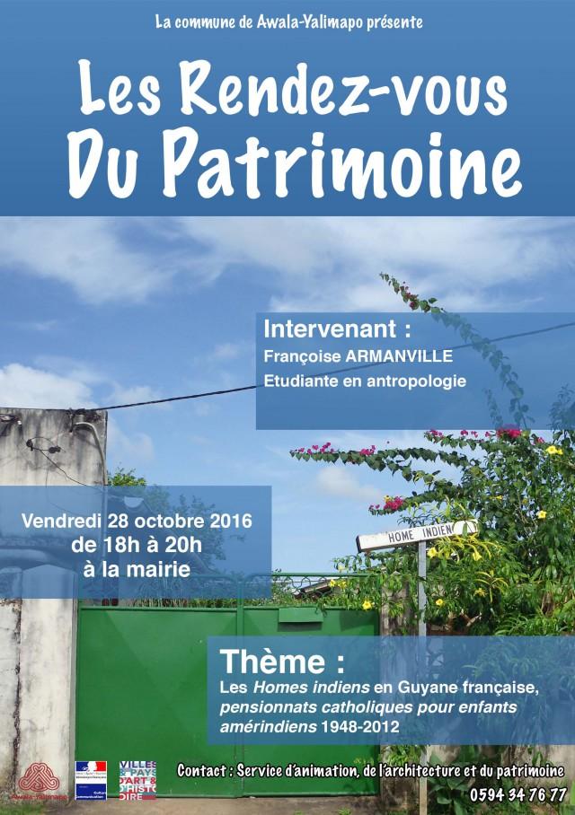 Conférence : Les Homes Indiens en Guyane française, pensionnats catholiques pour enfants amérindiens 1948-2012,