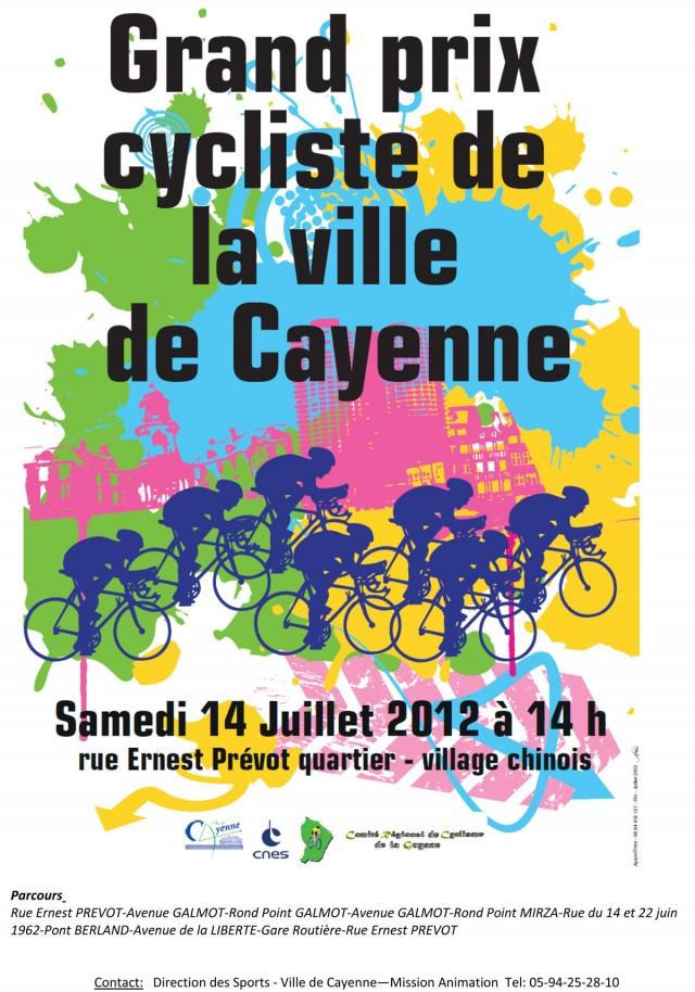 Rendez Vous sportif : Le grand prix cycliste de la ville de Cayenne