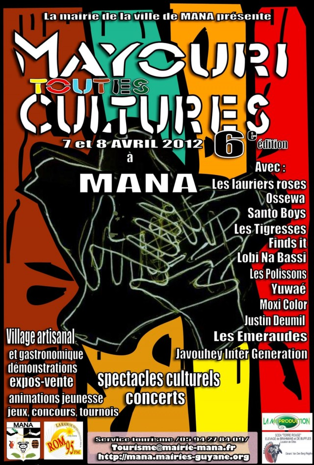 Musique live et spectacles : Mayouri toutes les culturesManales 7 et 8 avril
