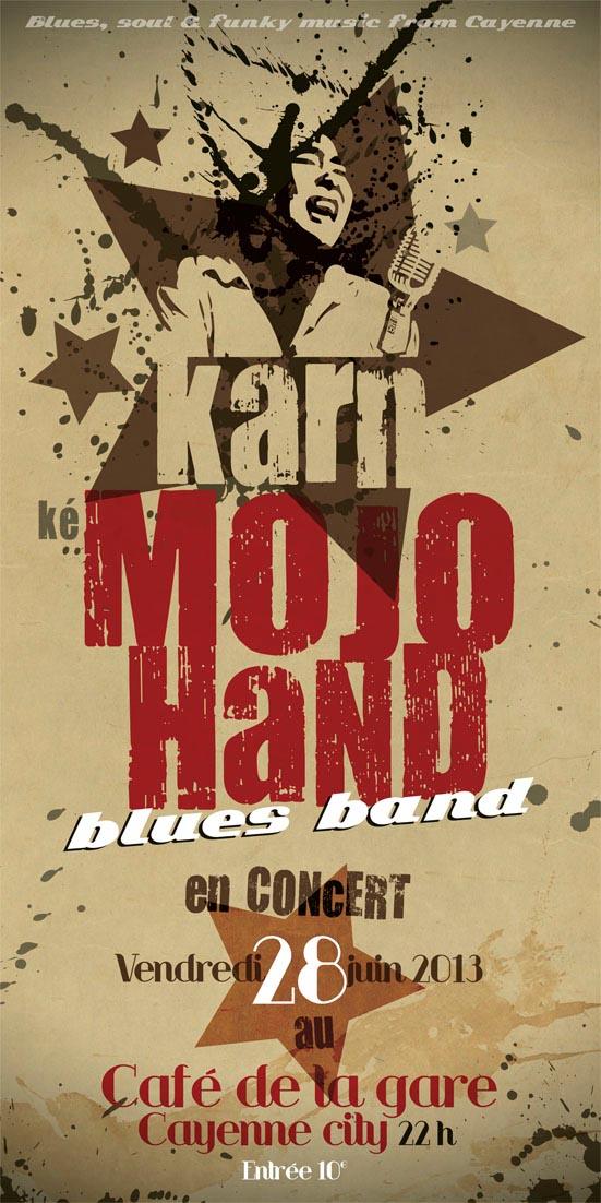 Concert : Karn Mojo Hand Blues Band le 28 juin