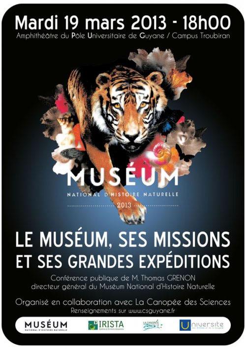 Conférence : missions et grandes expéditions du Muséum