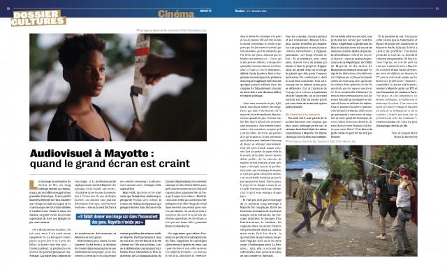 Dossier Culture: Tournage à Mayotte