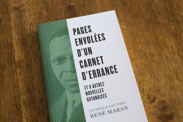 Pages envolées d'un carnet d'errance & 9 autres nouvelles, lauréat.e.s du prix René Maran