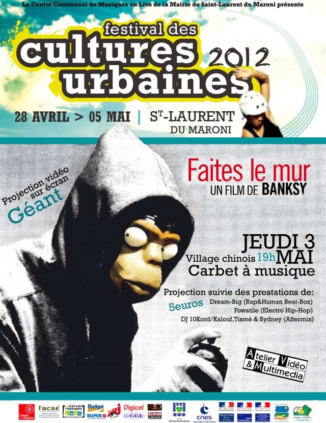 Ciné, Rap & Mix : Faites le mur à St Laurent du Maroni