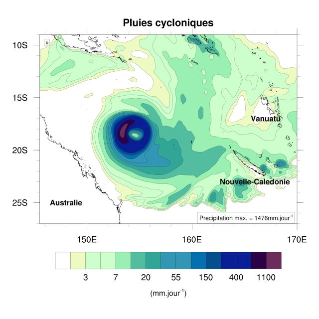 Vers une diminution des cyclones en Nouvelle-Calédonie?