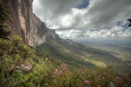 Face sud du Mont Roraïma