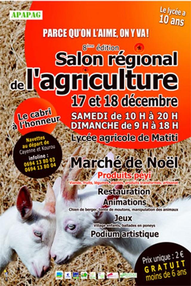 Agriculture : 8ème salon régional à Matiti les 17 et 18 décembre