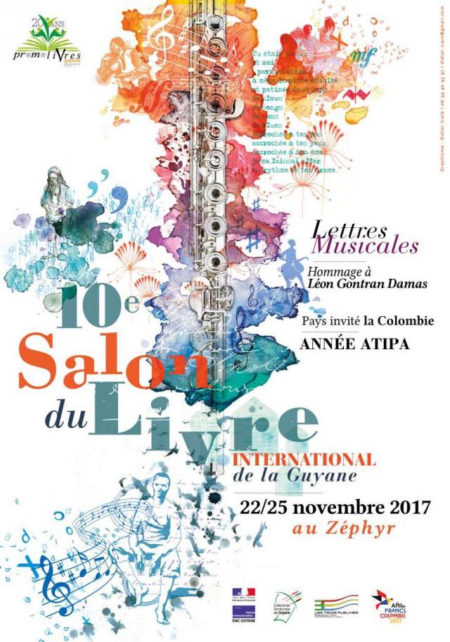 Programme du Salon du livre 10e edition : du 22 au 25 novembre